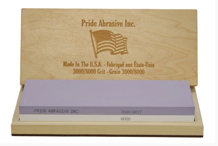 Pride Abrasive 3000/8000  Water Stone Whetstone Sharpener